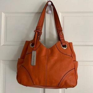 TIGNANELLO Tote • Perfect! Orange Leather
